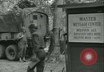 Image of First Army Signal Service message coding and decoding France, 1944, second 26 stock footage video 65675021725