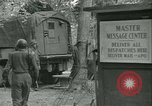 Image of First Army Signal Service message coding and decoding France, 1944, second 27 stock footage video 65675021725