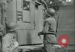 Image of First Army Signal Service message coding and decoding France, 1944, second 28 stock footage video 65675021725
