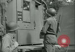 Image of First Army Signal Service message coding and decoding France, 1944, second 29 stock footage video 65675021725