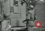 Image of First Army Signal Service message coding and decoding France, 1944, second 30 stock footage video 65675021725
