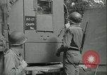 Image of First Army Signal Service message coding and decoding France, 1944, second 31 stock footage video 65675021725
