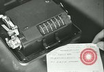 Image of First Army Signal Service message coding and decoding France, 1944, second 33 stock footage video 65675021725