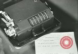 Image of First Army Signal Service message coding and decoding France, 1944, second 34 stock footage video 65675021725