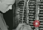 Image of First Army Signal Service message coding and decoding France, 1944, second 40 stock footage video 65675021725
