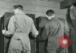 Image of First Army Signal Service message coding and decoding France, 1944, second 47 stock footage video 65675021725
