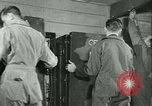 Image of First Army Signal Service message coding and decoding France, 1944, second 48 stock footage video 65675021725