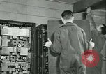 Image of First Army Signal Service message coding and decoding France, 1944, second 49 stock footage video 65675021725