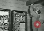 Image of First Army Signal Service message coding and decoding France, 1944, second 51 stock footage video 65675021725