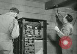 Image of First Army Signal Service message coding and decoding France, 1944, second 53 stock footage video 65675021725