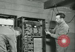 Image of First Army Signal Service message coding and decoding France, 1944, second 55 stock footage video 65675021725