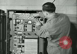 Image of First Army Signal Service message coding and decoding France, 1944, second 58 stock footage video 65675021725