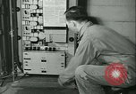 Image of First Army Signal Service message coding and decoding France, 1944, second 61 stock footage video 65675021725