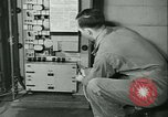 Image of First Army Signal Service message coding and decoding France, 1944, second 62 stock footage video 65675021725