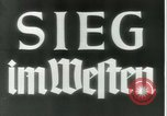 Image of German early 20th century military history Western Front European Theater, 1940, second 9 stock footage video 65675021733