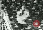 Image of Adolf Hitler greeting officers Germany, 1940, second 52 stock footage video 65675021759
