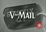 Image of V-mail handling World War 2 United States USA, 1943, second 5 stock footage video 65675021760
