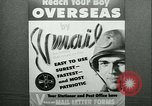 Image of V-mail handling World War 2 United States USA, 1943, second 13 stock footage video 65675021760