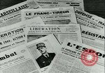 Image of Battle of France and FFI resistance fighters France, 1944, second 28 stock footage video 65675021768