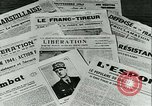 Image of Battle of France and FFI resistance fighters France, 1944, second 29 stock footage video 65675021768