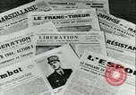 Image of Battle of France and FFI resistance fighters France, 1944, second 30 stock footage video 65675021768
