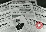 Image of Battle of France and FFI resistance fighters France, 1944, second 31 stock footage video 65675021768