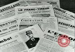 Image of Battle of France and FFI resistance fighters France, 1944, second 32 stock footage video 65675021768