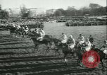 Image of Horse race at Auteuil Racecourse Paris France, 1942, second 9 stock footage video 65675021780