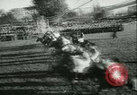 Image of Horse race at Auteuil Racecourse Paris France, 1942, second 10 stock footage video 65675021780