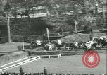 Image of Horse race at Auteuil Racecourse Paris France, 1942, second 13 stock footage video 65675021780