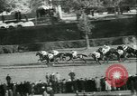 Image of Horse race at Auteuil Racecourse Paris France, 1942, second 16 stock footage video 65675021780