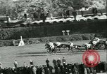 Image of Horse race at Auteuil Racecourse Paris France, 1942, second 17 stock footage video 65675021780