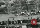 Image of Horse race at Auteuil Racecourse Paris France, 1942, second 21 stock footage video 65675021780