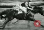 Image of Horse race at Auteuil Racecourse Paris France, 1942, second 36 stock footage video 65675021780