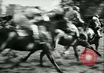 Image of Horse race at Auteuil Racecourse Paris France, 1942, second 38 stock footage video 65675021780