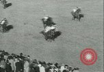 Image of Horse race at Auteuil Racecourse Paris France, 1942, second 41 stock footage video 65675021780