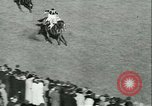 Image of Horse race at Auteuil Racecourse Paris France, 1942, second 44 stock footage video 65675021780
