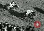 Image of Horse race at Auteuil Racecourse Paris France, 1942, second 49 stock footage video 65675021780