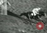 Image of Horse race at Auteuil Racecourse Paris France, 1942, second 51 stock footage video 65675021780