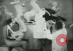 Image of German sculptor Germany, 1942, second 13 stock footage video 65675021787