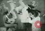 Image of German sculptor Germany, 1942, second 14 stock footage video 65675021787