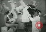 Image of German sculptor Germany, 1942, second 15 stock footage video 65675021787
