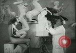 Image of German sculptor Germany, 1942, second 16 stock footage video 65675021787