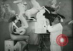Image of German sculptor Germany, 1942, second 17 stock footage video 65675021787