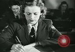 Image of German girls train for communications work in Athens Athens Greece, 1942, second 11 stock footage video 65675021788