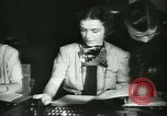 Image of German girls train for communications work in Athens Athens Greece, 1942, second 20 stock footage video 65675021788