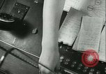 Image of German girls train for communications work in Athens Athens Greece, 1942, second 25 stock footage video 65675021788