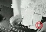 Image of German girls train for communications work in Athens Athens Greece, 1942, second 27 stock footage video 65675021788