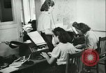 Image of German girls train for communications work in Athens Athens Greece, 1942, second 29 stock footage video 65675021788