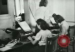 Image of German girls train for communications work in Athens Athens Greece, 1942, second 30 stock footage video 65675021788